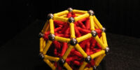 Rhombic Triacontahedron (Internally supported)