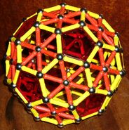 Truncated icosahedron a10