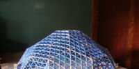 Pseudogeodesic dome scale 4