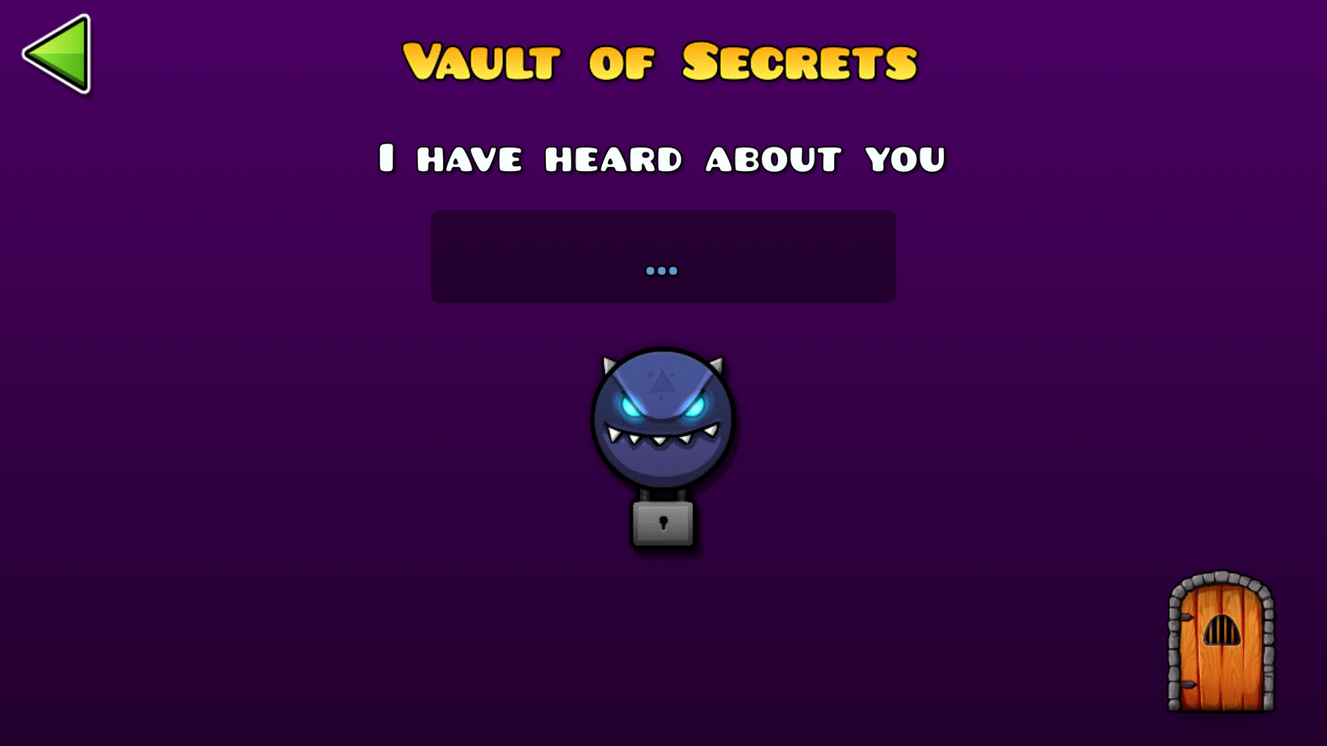 the vault of secrets is a feature of geometry dash and geometry dash world introduced in geometry dash world and then in update 21 it is located through