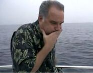 Ep 3x9 - Vic getting seasick on his boat