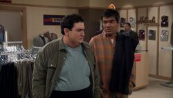 George Lopez ep 5x18 - George takes Ernie to a clothing store