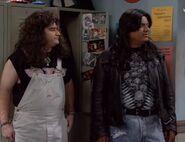 GL ep 2x14 - George and Ernie in high school