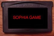 Sophia game cart