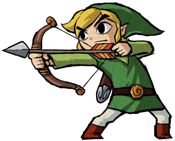 File:Toon link bow.png