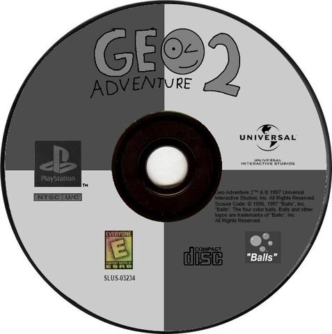 File:Geo Adventure 2 PS1 disc Greatest Hits.jpg