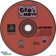 Geo's 1st Movie PS1 Disc