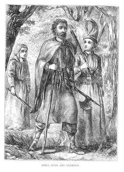 Gisle med Aud och Gudrid