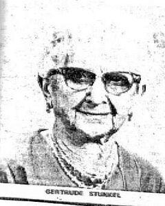 Gertrude Stunkel