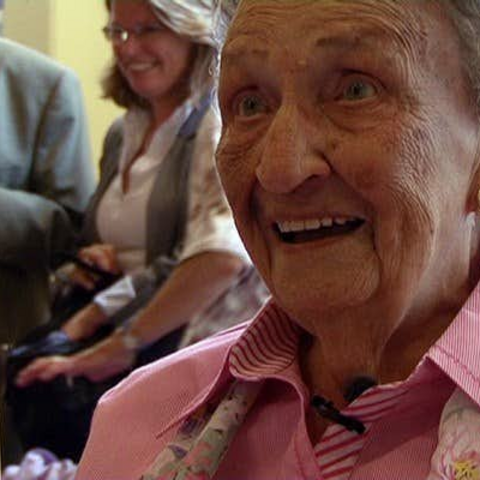 Anna Brasz-Later at age 107