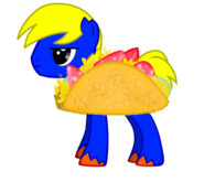 Pony joe in a taco suit by g gage-d4s5x3o