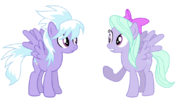 Cloudchaser and flitter by fluttertroll-d5qede9