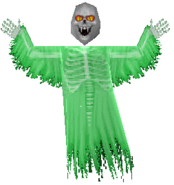 Skull Ghost (green)