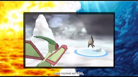 Mega Flygon confirmed Omega Ruby and Alpha Sapphire and Gameplay!