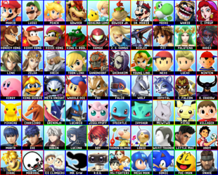 70 Character Roster