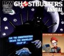 IDW Publishing Comics- Ghostbusters Annual 2015