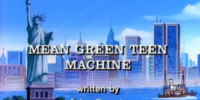 Mean Green Teen Machine