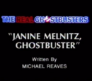 Janine Melnitz, Ghostbuster