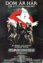 Swedish Ghostbusters poster