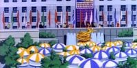 Rockefeller Plaza/Animated
