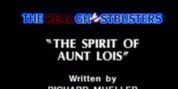 The Spirit of Aunt Lois