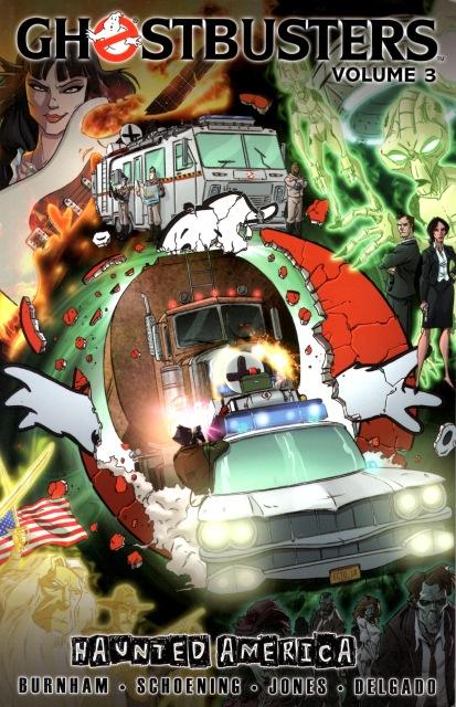 idw publishing comics ghostbusters volume 3 tpb