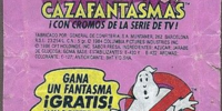 Los Cazafantasmas chicle bubble gum by General De Confiteria S.A.
