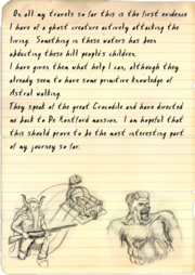 Professor's diary, 4