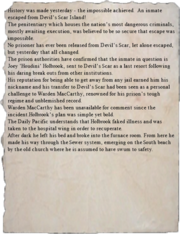 Prisoner escapes article