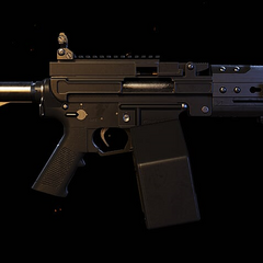 Stock Mk249 with factory new paint. (Wildlands)