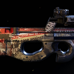 P90 Doorkicker, Unique variant of the regular P90 in WIldlands.