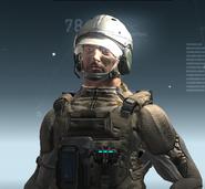 DF-9 Shell Helmet TAN