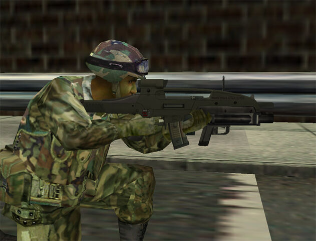 File:A Ghost with his XM8.jpg