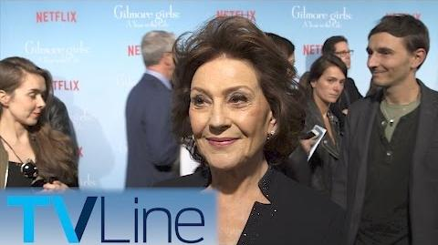 Kelly Bishop Gilmore Girls Red Carpet Premiere Interview TVLIne