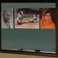 Gandhi,Jackie Robinson &amp; Malala  <br /> (<a href=