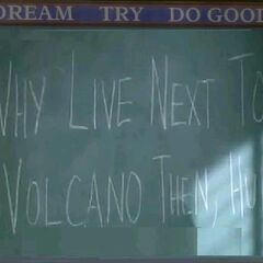 Why Live Next To A Volcano Then, Huh? (<a href=