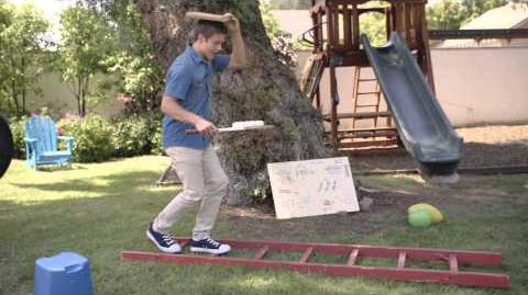 Disney Channel Try It Obstacle Course