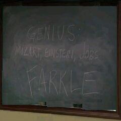 Genius: Mozart, Einstein, Jobs, FARKLE (<a href=