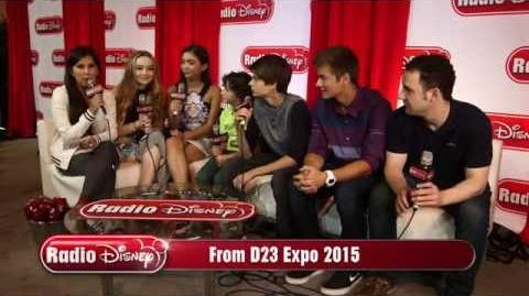 Cast of Girl Meets World at D23 Expo 2015 Radio Disney