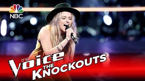 """The Voice 2016 Knockout - Darby Walker """"Shake It Out"""""""