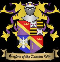 Kingdom of the Carmine Sea Crest