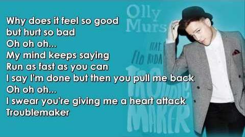 Olly Murs feat. Flo Rida - Troublemaker Lyrics