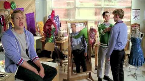 "GLEE - Behind the Scenes ""Makeover"""