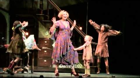 Annie-Little Girls and Reprise- Jane Lynch- LIVE on Broadway