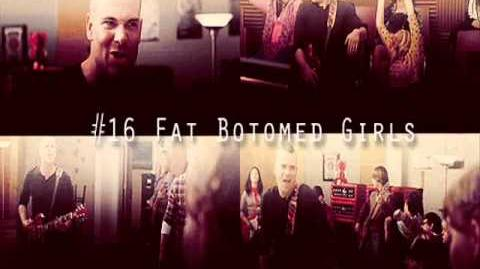 Glee - Fat Bottomed Girls (Acapella)
