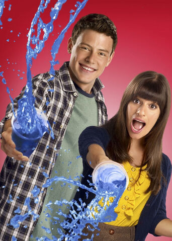 File:FinChel Gleeks Out ! Season 2 of Glee Slushies.jpg