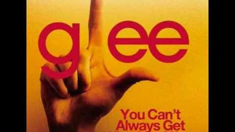 Glee - You Can't Always Get What You Want WIth Lyrics
