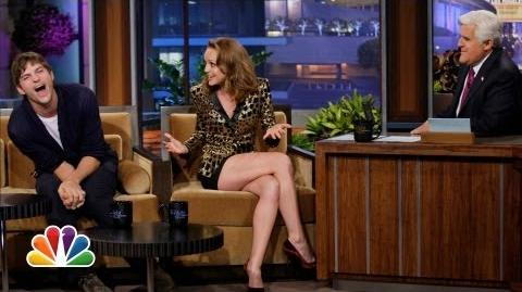 Jayma Mays' Ear Bug? - The Tonight Show with Jay Leno