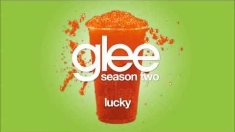 Glee - Lucky