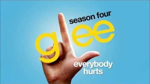 Everybody Hurts - Glee cast HD FULL STUDIO